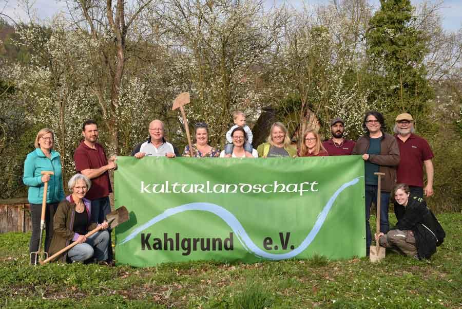 Gruppenfoto zum Verein Kulturlandschaft